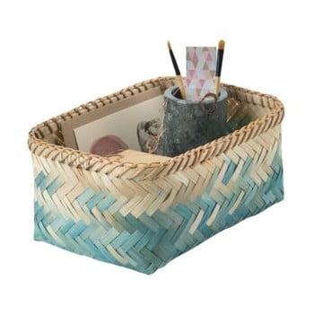 Cutie depozitare din bambus Compactor Mia, 12 cm h imagine