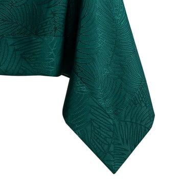 Față de masă AmeliaHome Gaia Bottle Green, 140 x 180 cm, verde închis imagine
