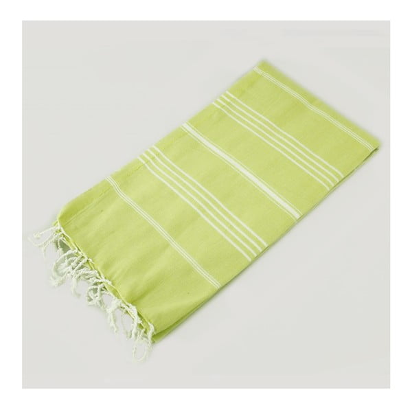 Hammam osuška Classic Style Green, 100x180 cm