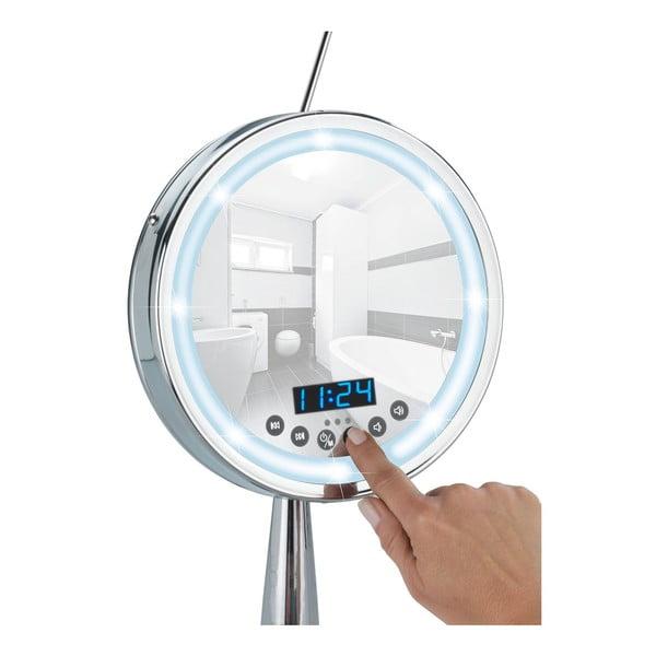 Zvětšovací zrcadlo s LED osvětlením a rádiem Wenko Imperial