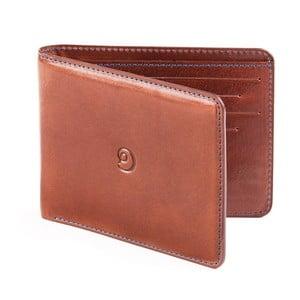 Danny P. kožená peněženka Slim Tobacco