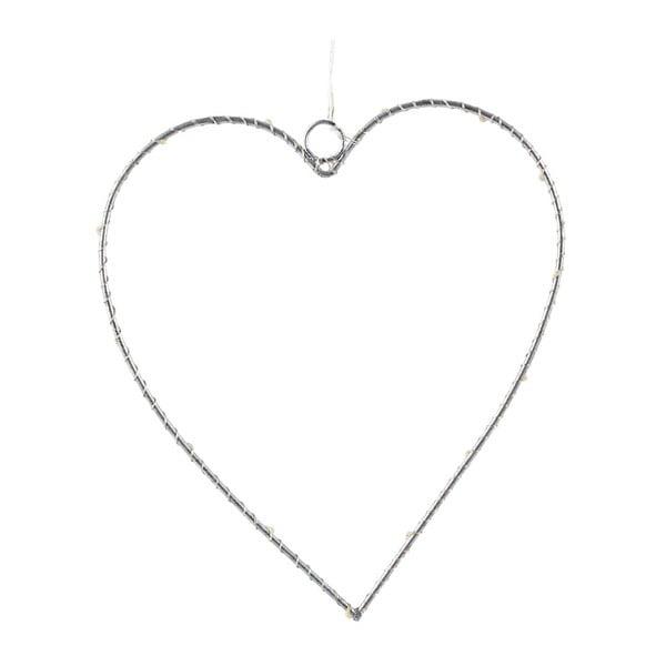 Svetelná LED dekorácia Villa Collection Heart