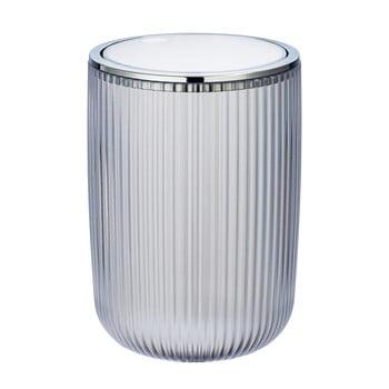 Coș de gunoi Wenko Acropoli, 2l, alb argintiu imagine