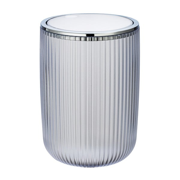 Coș de gunoi Wenko Acropoli, 2l, alb argintiu