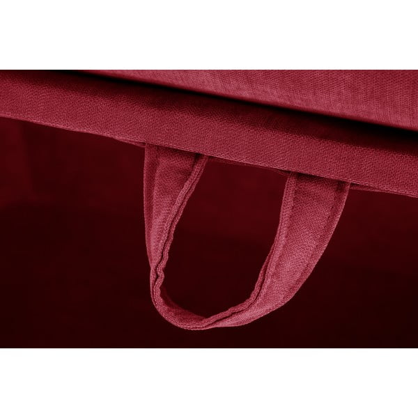Trojdílná sedací souprava Jalouse Maison Serena, červená