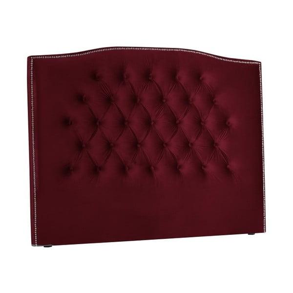 Červené čelo postele Mazzini Sofas, 200 x 120 cm