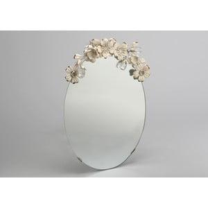Zrcadlo Flowers Mirror, 25x41 cm