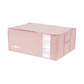 Cutie de depozitare cu vid pentru haine Compactor Pink Edition, 210 l imagine