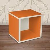Police Cube, oranžová