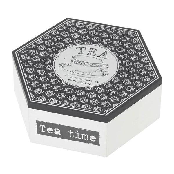 Dóza na čaje Tea Grey