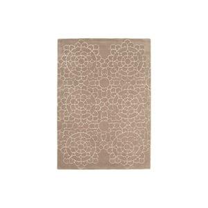Vlněný koberec Crochet Beige 120x170 cm