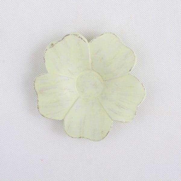 Světle zelená dekorativní mistička na odkládání klíčů Dakls, ⌀ 14 cm