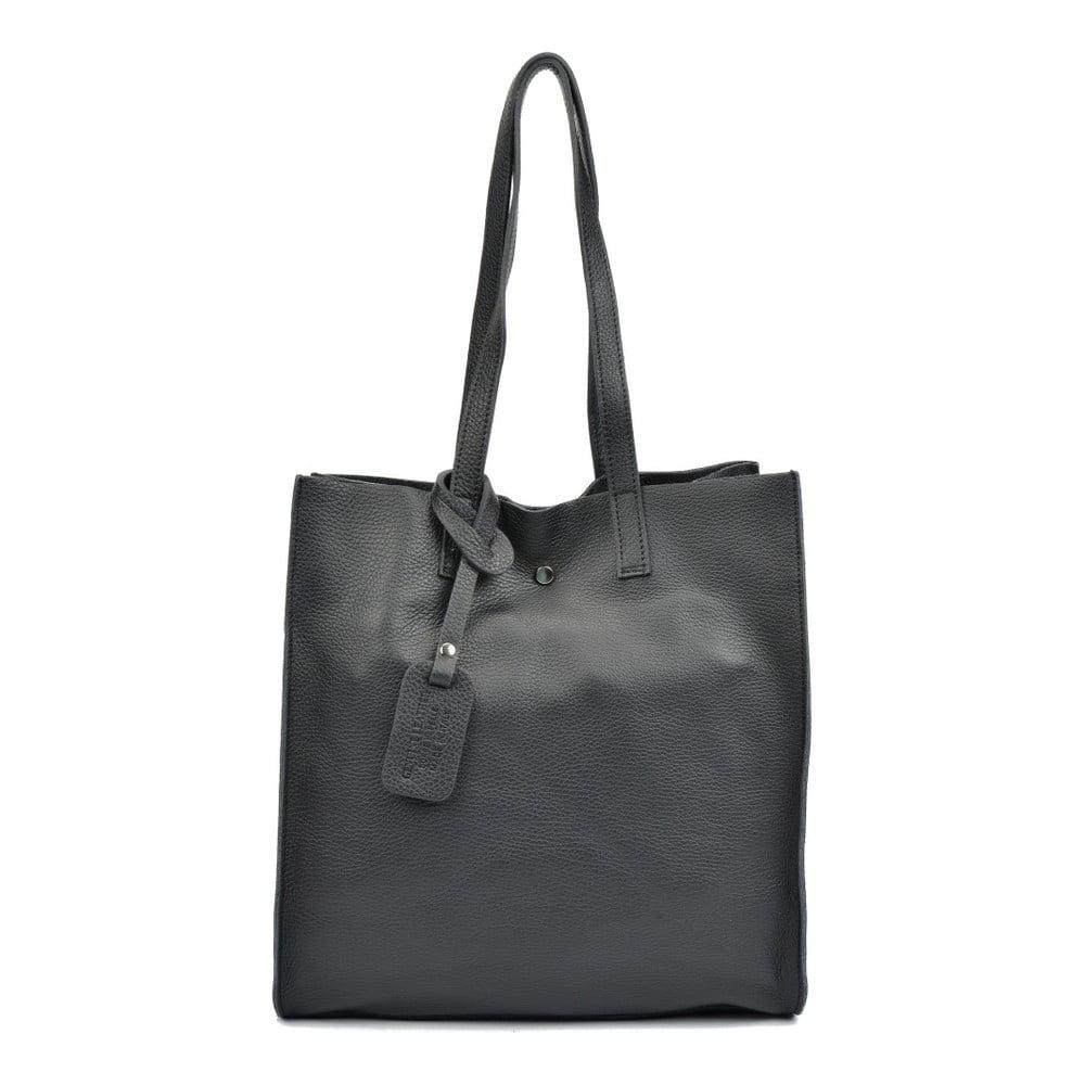 2ae8d376c1 Černá kožená kabelka Isabella Rhea Dahna