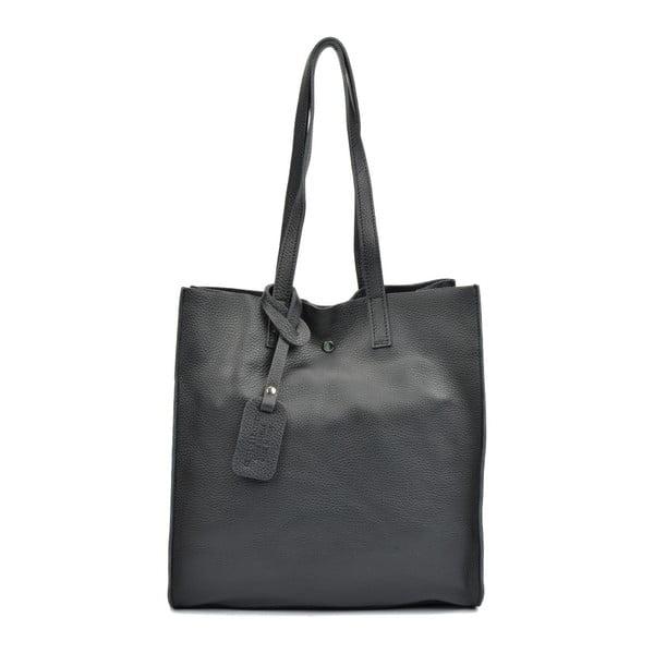 Čierna kožená kabelka Isabella Rhea Dahna