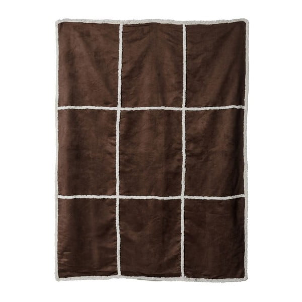 Přehoz Bufalo Brown, 130x170 cm