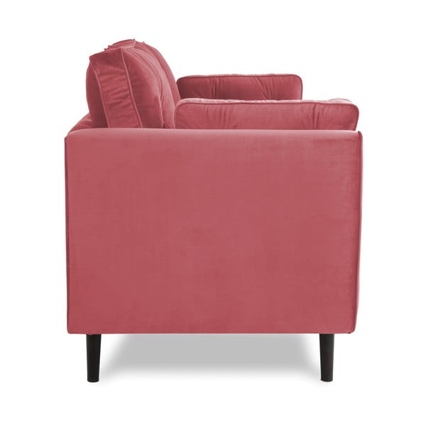 Canapea 3 locuri Vivonita Portobello, roșu