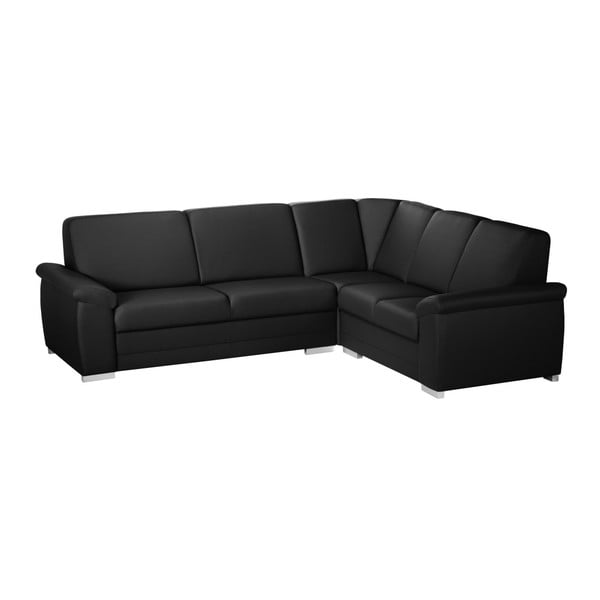 Canapea cu șezut pe partea dreaptă Florenzzi Bossi Medium, negru