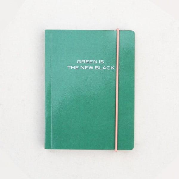 Zielony notes Caroline Gardner Green is the New Black, 320 str.