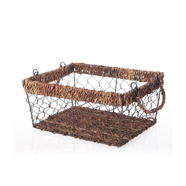 Proutěný košík Wicker, 28 cm