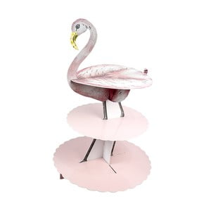 Etajeră din hârtie Talking Tables Flamingo
