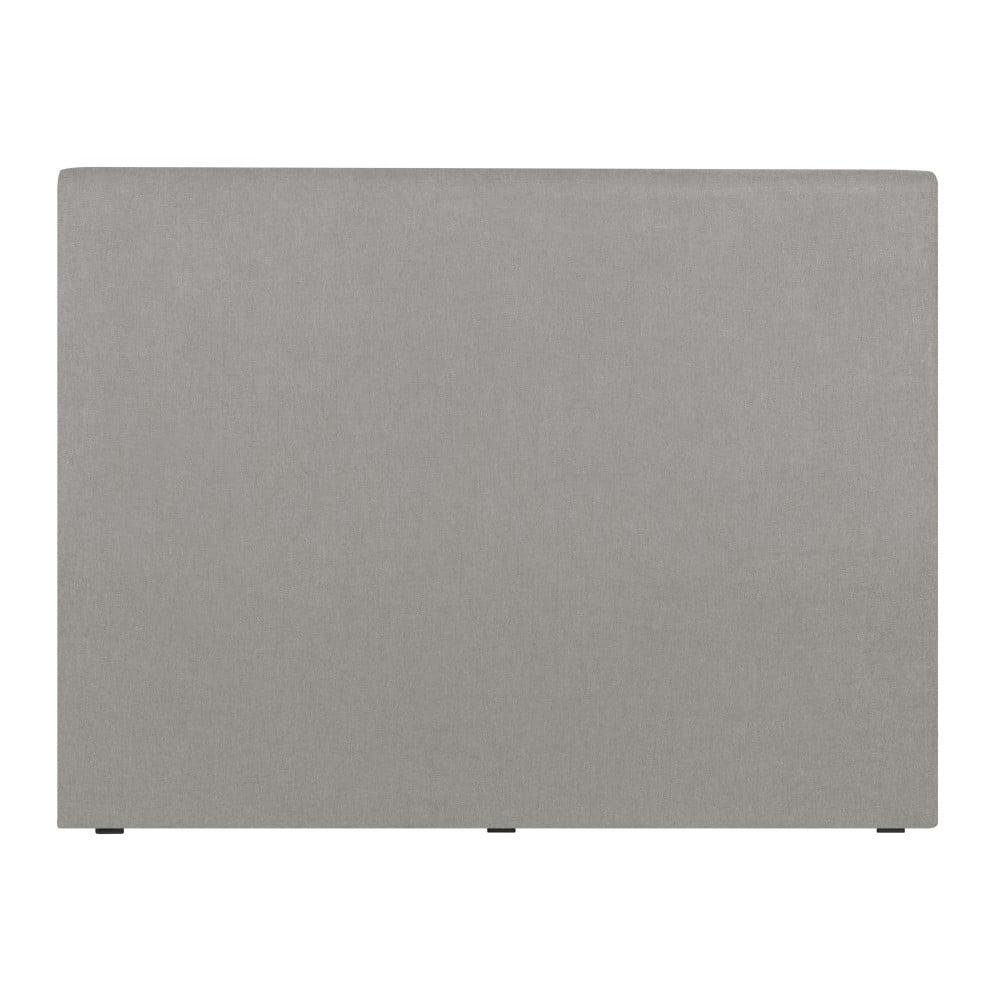 Světle šedé čelo postele Windsor & Co Sofas UNIVERSE, 160x120cm Windsor & Co Sofas