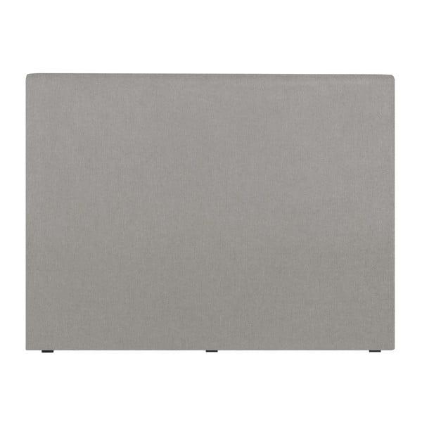 Jasnoszary zagłówek łóżka Windsor & Co Sofas UNIVERSE, 160x120cm