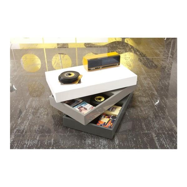 Konferenční stolek s úložným prostorem Design Twist Sardara Cube