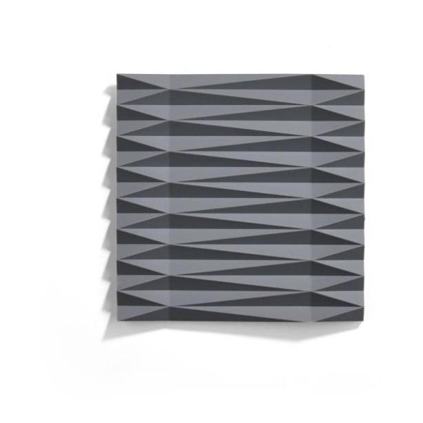 Origami Yato szürke szilikonos edényalátét, 16 x 16 cm - Zone