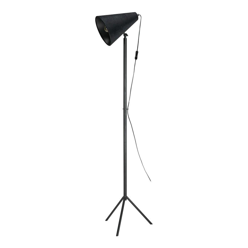 Černá volně stojící lampa Markslöjd Cilla Floor 1L