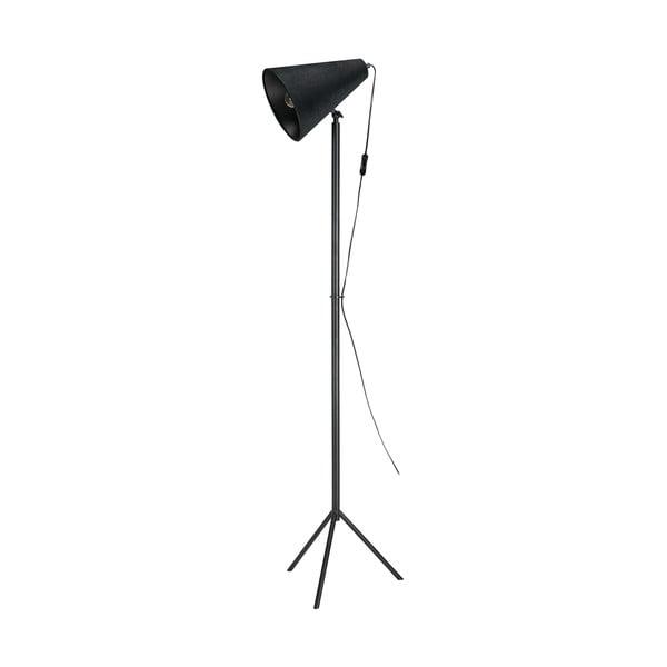Czarna lampa stojąca Markslöjd Cilla Floor 1L