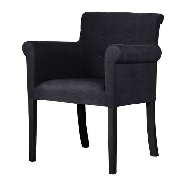 Flacon fekete bükk szék fekete lábakkal - Ted Lapidus Maison