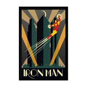 Plakát Iron Man, 35x30 cm