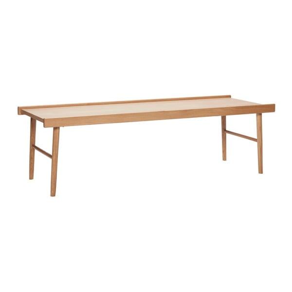 Masă din lemn Hübsch Table With Edge, lungime 137 cm