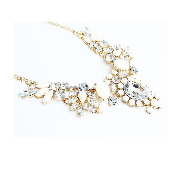 Náhrdelník Romantic Rhinestone Pearl