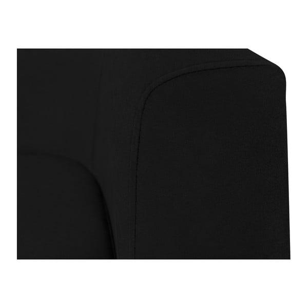 Černé křeslo Kooko Home Glam