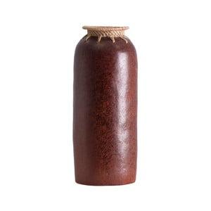 Váza z exotického dřeva Last Deco Kenya, výška 30 cm