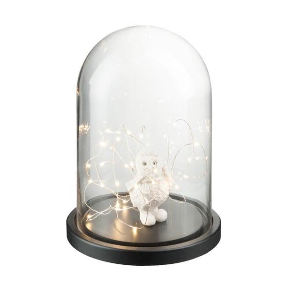 Dekorativní poklop s LED světýlky Bell, výška 32 cm