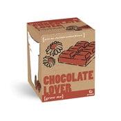 Set grădinărit Gift Republic Chocolate Lover cu semințe de flori de ciocolată