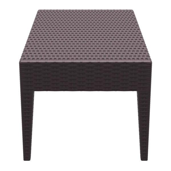 Stůl Miami Lounge, hnědý