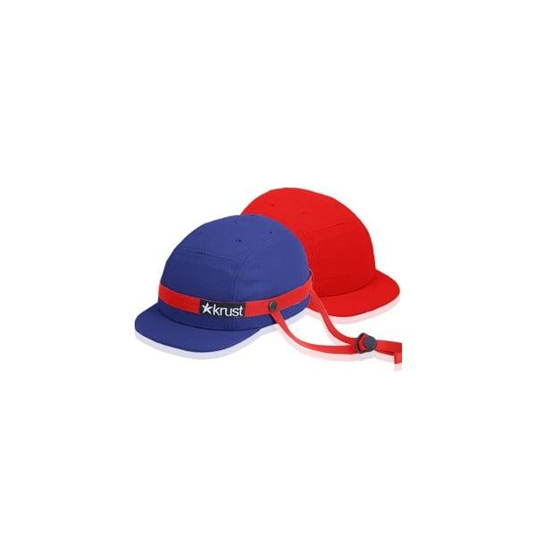 Cyklistická přilba Krust blue/red/red s náhradní čepičkou, velikost S
