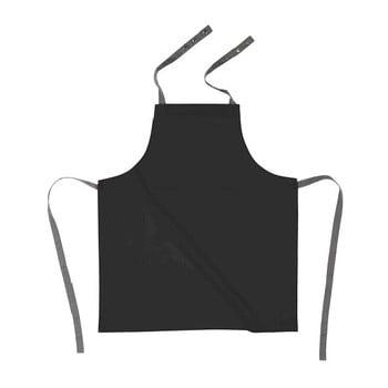 Șorț de bucătărie din bumbac Tiseco Home Studio, negru de la Tiseco Home Studio