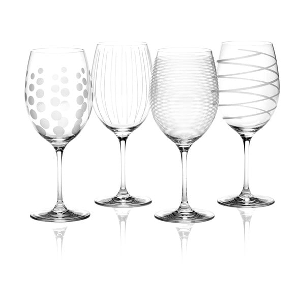 Sada 4 sklenic na červené víno Mikasa
