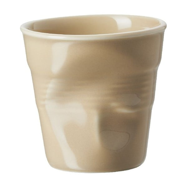 Kelímek na espresso Froisses 8 cl, pískový