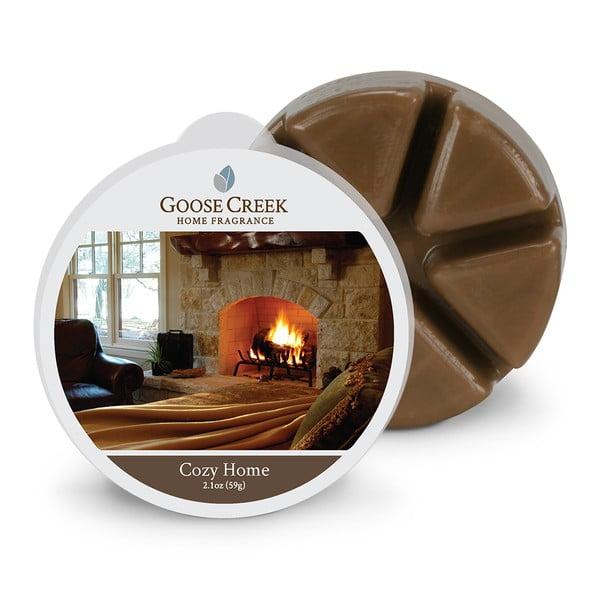 Ceară aromată pentru lămpi aromaterapie Groose Creek Cozi Home, 65 ore de ardere