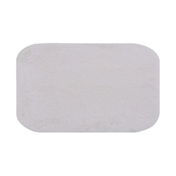 Biały dywanik łazienkowy Miami, 100x160 cm