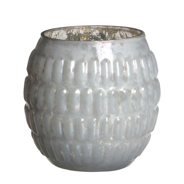 Stojan na svíčku Tavira White, 9 cm