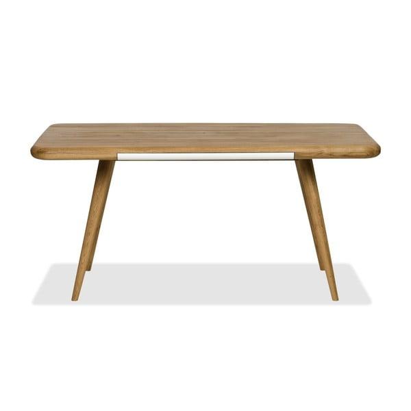Jídelní stůl z dubového dřeva Gazzda Ena One, 160x100x75cm