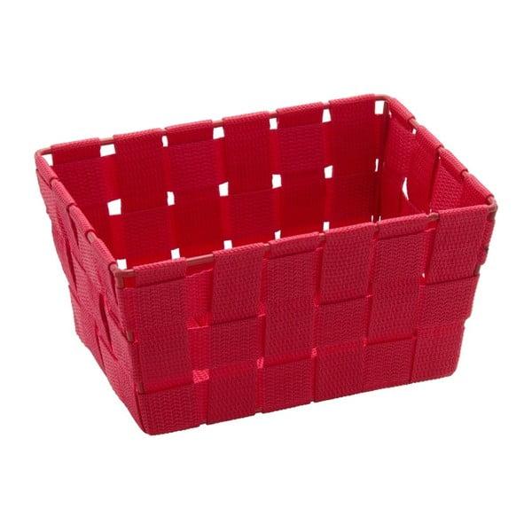 Coș pentru depozitare Wenko Adria, 14 x 19 cm, roșu