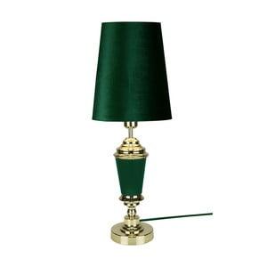 Zelená stolní lampa GlobenLighting Wallenberg