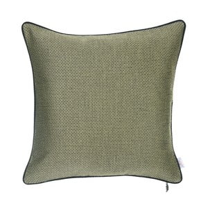 Zelený žakárový povlak na polštář Apolena Vincent, 43 x 43 cm